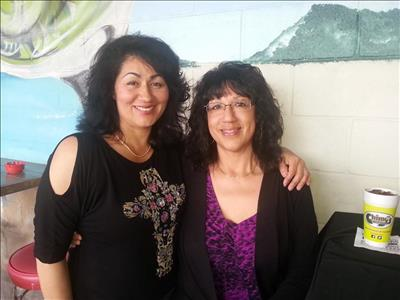 Siblings and Board Members Teresa Scott and Irene Rodriguez