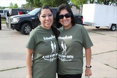 Siblings Dayna and Gevana Salinas A Mile in My Shoes 2013